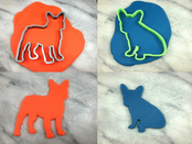 Frenchie Cookie Cutter