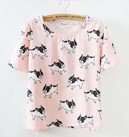 Multiple French Bulldog Shirts (3 colors)