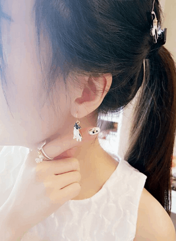 Frenchie Earrings