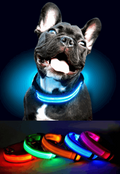 Adjustable LED Pet Collar (XS-L)