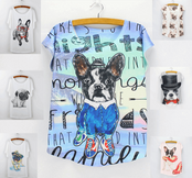 French Bulldog Fashion Shirts (16 designs)