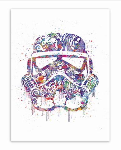 Pop Art Dark Side Poster