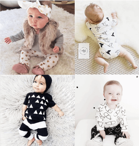 Cool Baby Patterns Outfits (0-24month)
