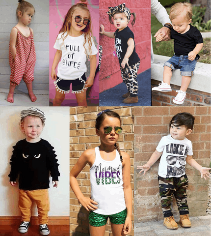 Cool Toddlers Outfits (24 Month- 7 Years)