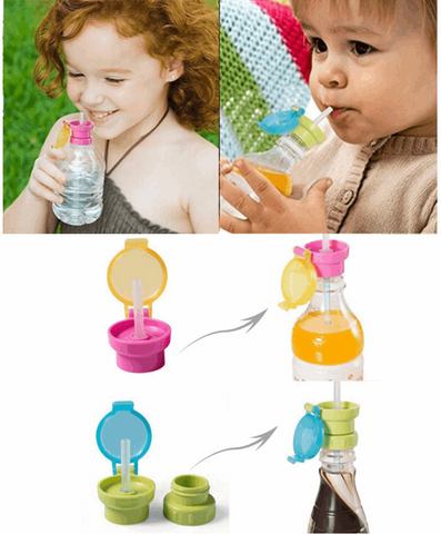2X Silicone Straw Bottle Extension