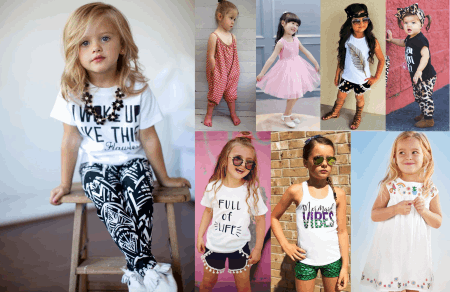 Cool Girls Outfits Collection (2 - 7 Years)