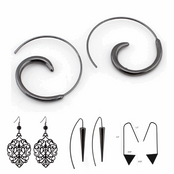 Cool Black Earrings Collection