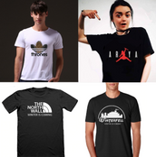 Funny GOT LOGO T-shirts Collection (unisex)