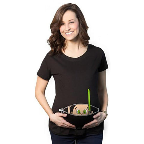 Funny Pregnant T-Shirt Collection