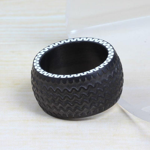 Black Tire Ring