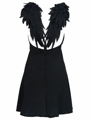 Black Angel's Dress