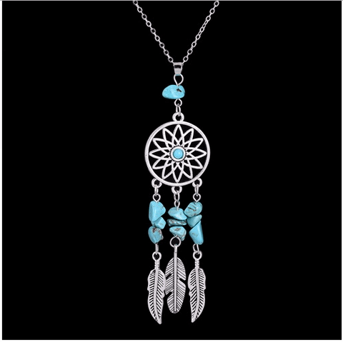 Crystal Dream Catcher Necklace