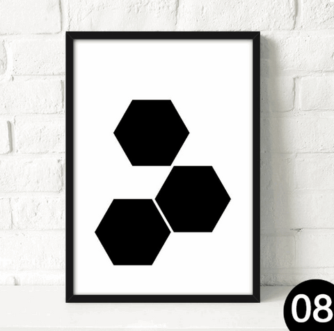 Abstract Nordic Poster Collection