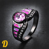Pink&Dark Rings Collection