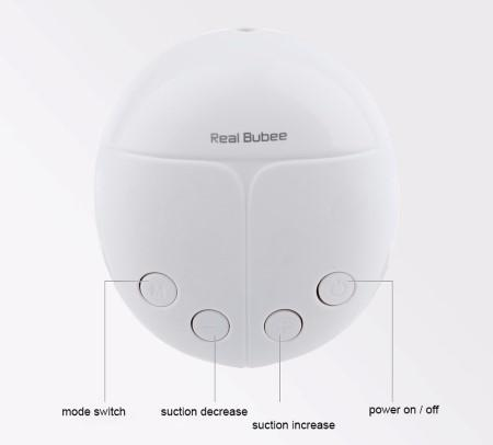 Real Bubee Breast Pump + Free Breast Therapads (Best for breastfeeding)