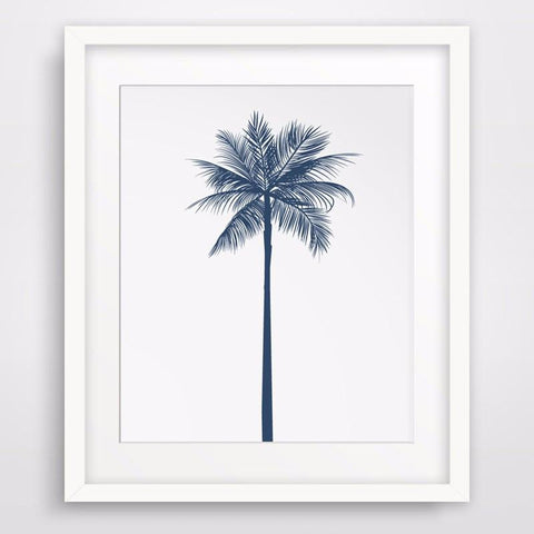 Single Palm Tree Poster