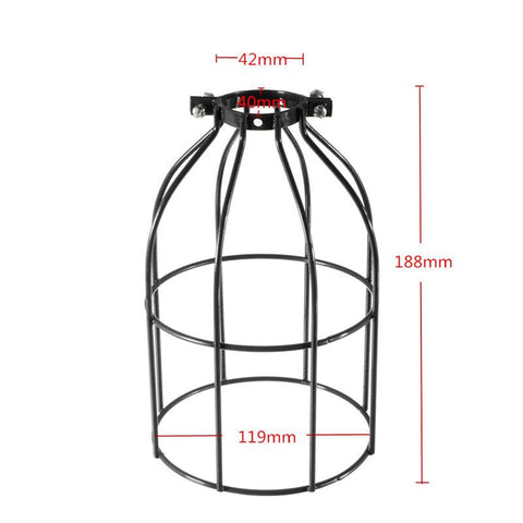 Rustic Vintage Cage Lamp Shade