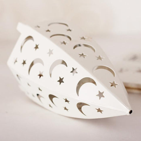 Moon & Star Candle Holder