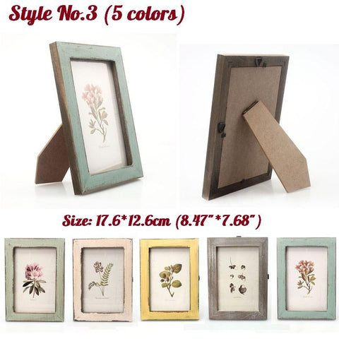 Rustic Countryside Style Picture Frames