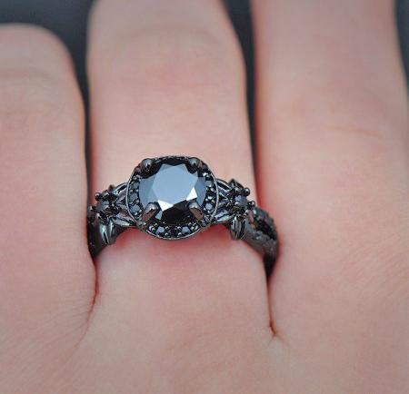 Black N Black Rings Collection