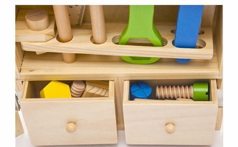 Wooden Carpentry Play Sets