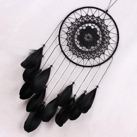 Black Lace Dreams Catcher