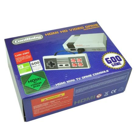 Mini-me Game Console (600 games in 1 retro console)