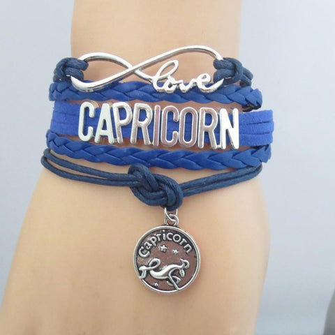 Nifty Colored Zodiac Bracelet
