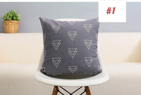 B&W Minimalist Cushion Covers