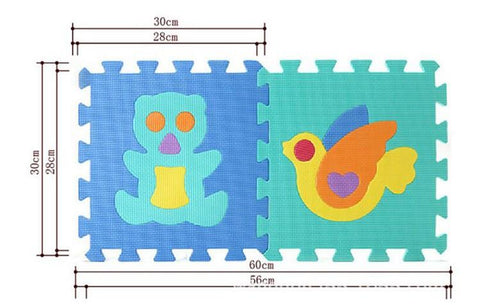 Foam Play mat (4 patterns)