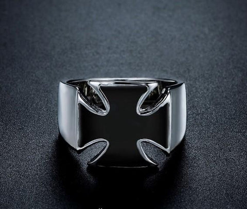 Frameless Templar Cross Ring