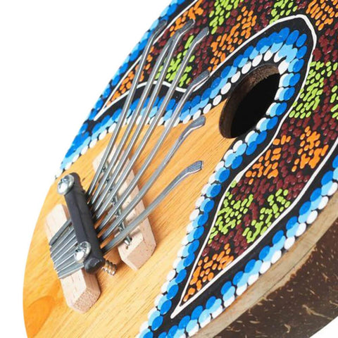 Kalimba Coconut Thumb Piano