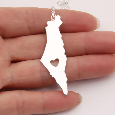 Israel pendant Necklace