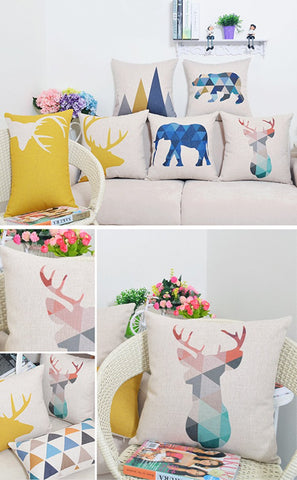 Colorful Nordic Style Cushion Covers