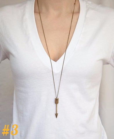 Minimalistic Fashion Pendant Necklaces