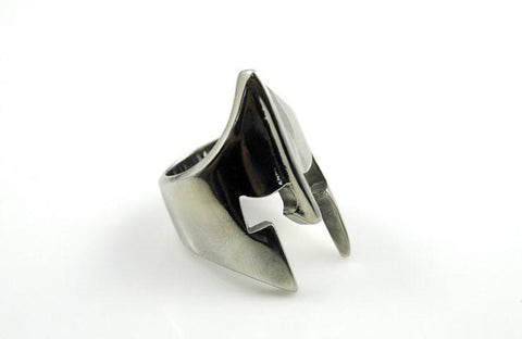 Knight's Helmet Ring