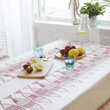 Lucky Red Fish Table Cloth