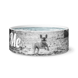 Ceramic Frenchie  Water/Food Bowl