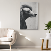 Punk Dog -  Original and Exclusive Canvas Wall Art