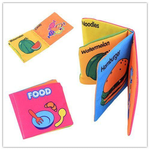 Educational Baby Cloth Books