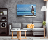 Watching The Horizon -  Original and Exclusive Canvas Wall Art