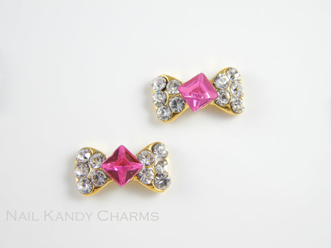 Fuchsia Diamond Bow