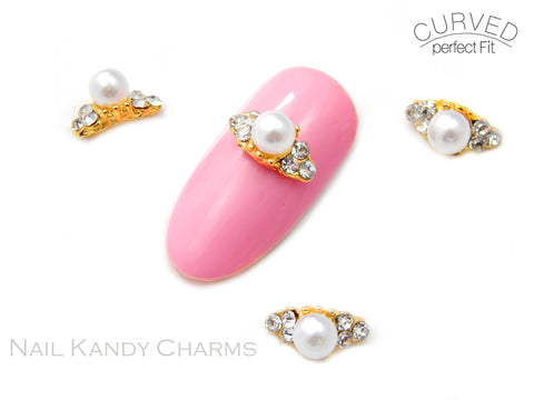 Katrina Ring / Gold /  Pearl