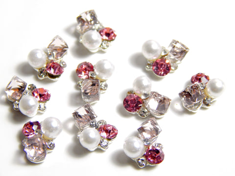 Electra Cluster / Pink Crystal