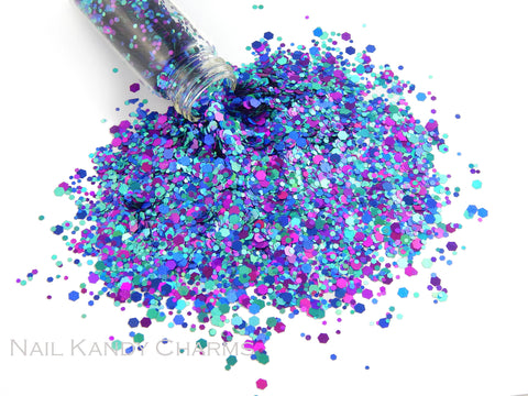 Glitter Mix / Razzleberry