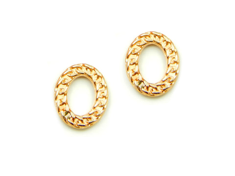 Links Frame / Gold / Oval
