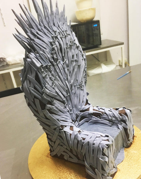 Mid way through - Game of Thrones Cake