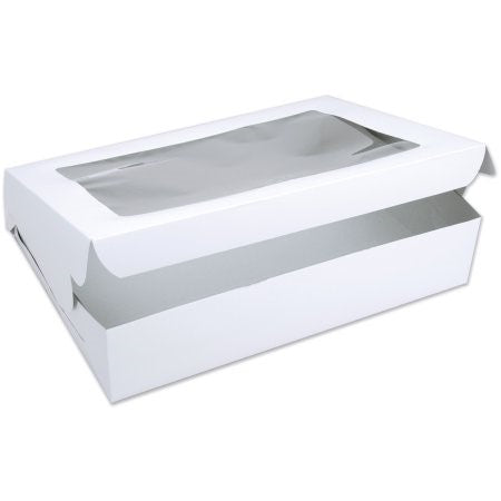 Cake Box - Rectangle with window 18x14x6""