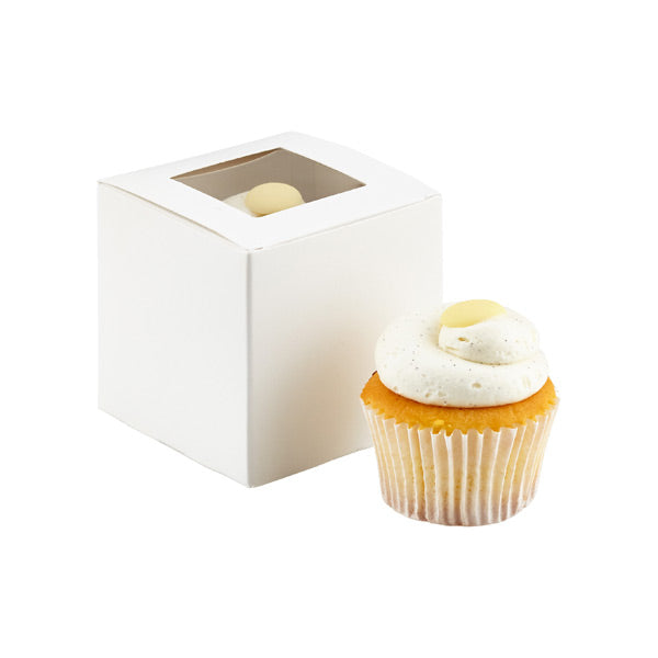 Single Cupcake Box with PVC Window