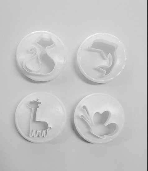Cutters - Assorted Animal Set 4pc